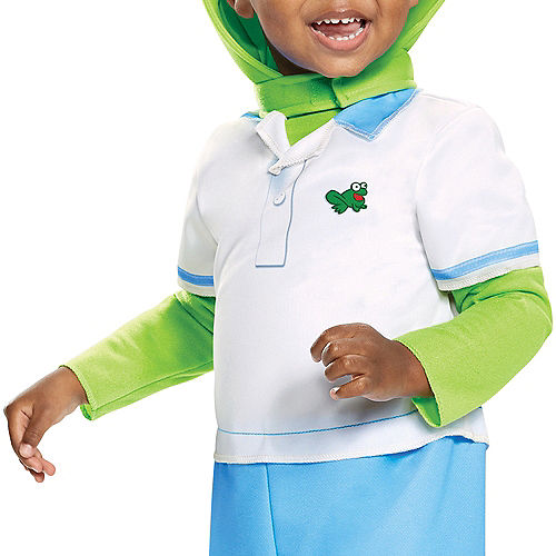 Toddler Kermit the Frog Costume - Muppet Babies Image #3