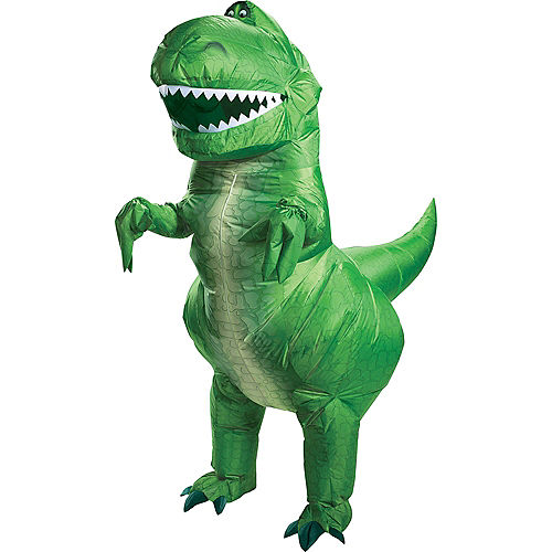 Adult Inflatable Rex Costume - Toy Story 4 Image #1