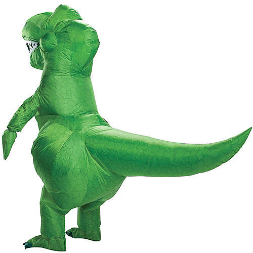 Adult Inflatable Rex Costume - Toy Story 4 Image #2