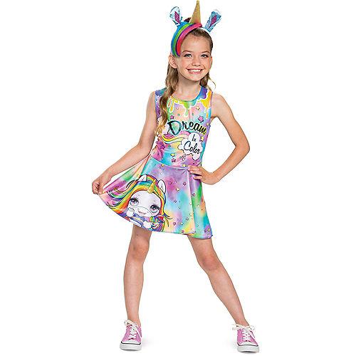 Child Rainbow Brightstar Costume - Poopsie Slime Surprise Unicorn Image #1
