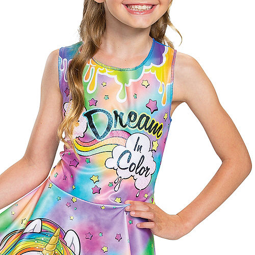 Child Rainbow Brightstar Costume - Poopsie Slime Surprise Unicorn Image #3