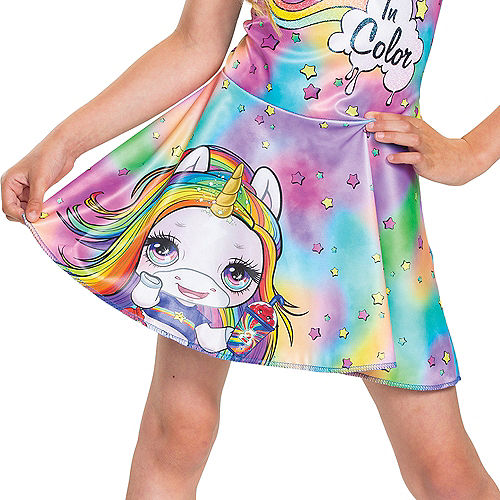 Child Rainbow Brightstar Costume - Poopsie Slime Surprise Unicorn Image #4