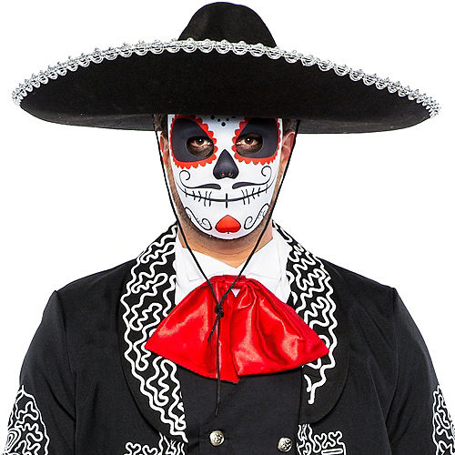 Adult Traditional Day of the Dead Costume Image #2