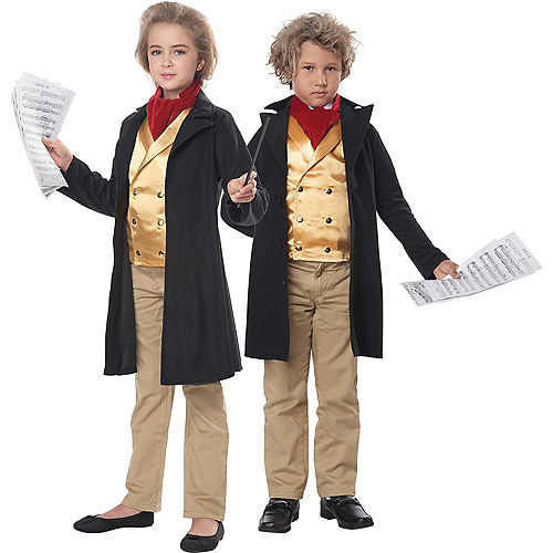 Child Ludwig Van Beethoven Costume Image #1