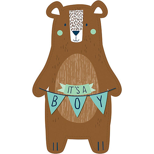 Can Bearly Wait Cardboard Cutout, 3ft Image #1