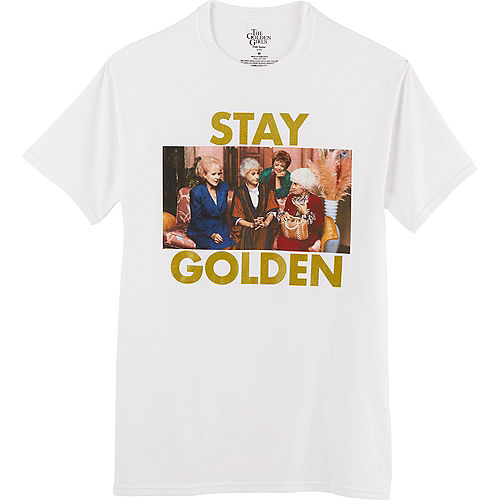 Adult Stay Golden T-Shirt Image #1