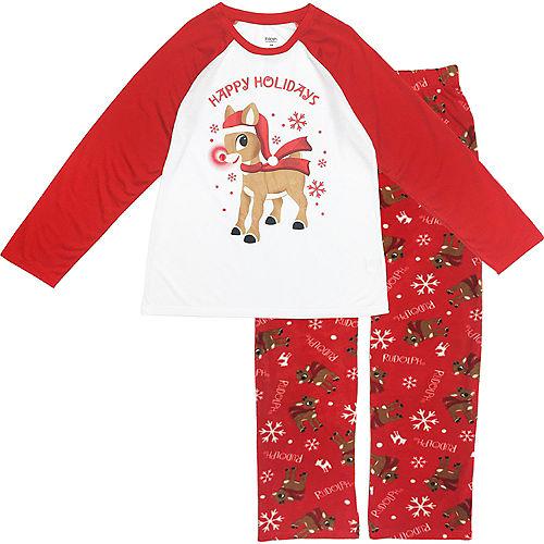 Men's Rudy Christmas Pajamas Image #1