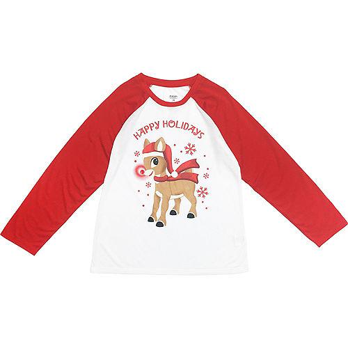 Men's Rudy Christmas Pajamas Image #3
