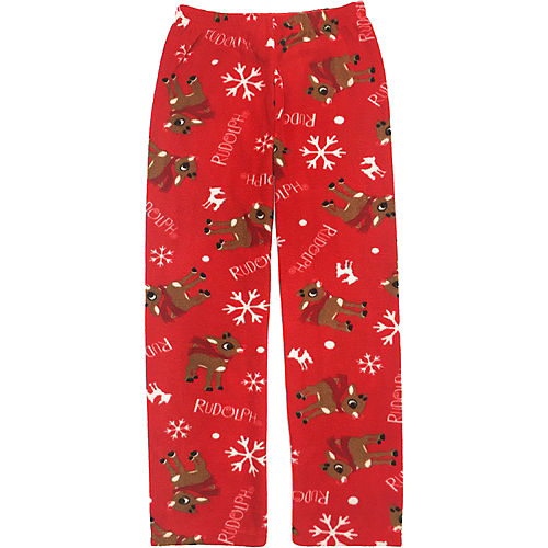 Girl's Rudy Christmas Pajamas Image #4