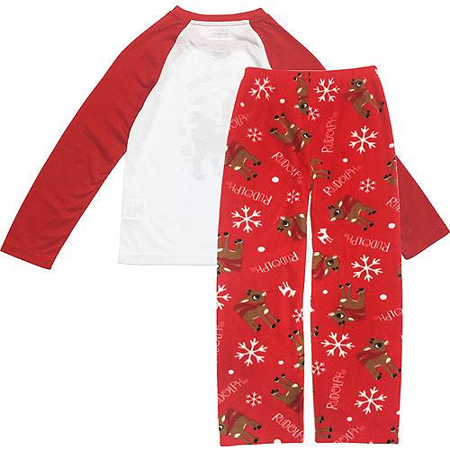 Boy's Rudy Christmas Pajamas Image #2