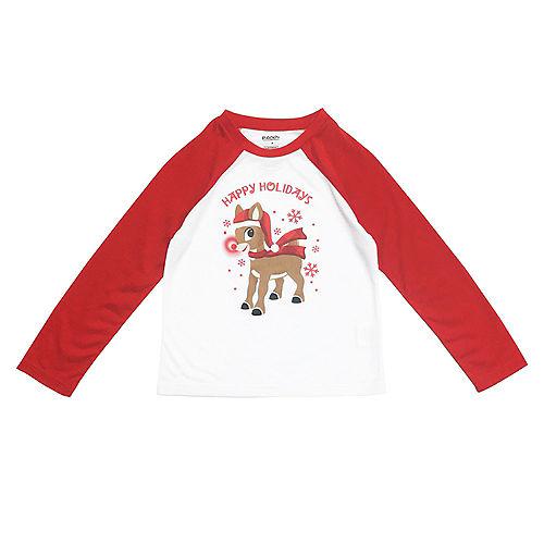 Boy's Rudy Christmas Pajamas Image #3