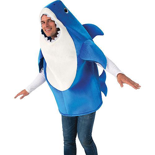 Adult Daddy Shark Costume Image #2