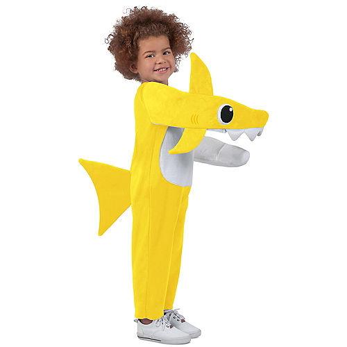 Child Singing Baby Shark Costume Image #1