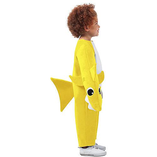 Child Singing Baby Shark Costume Image #2