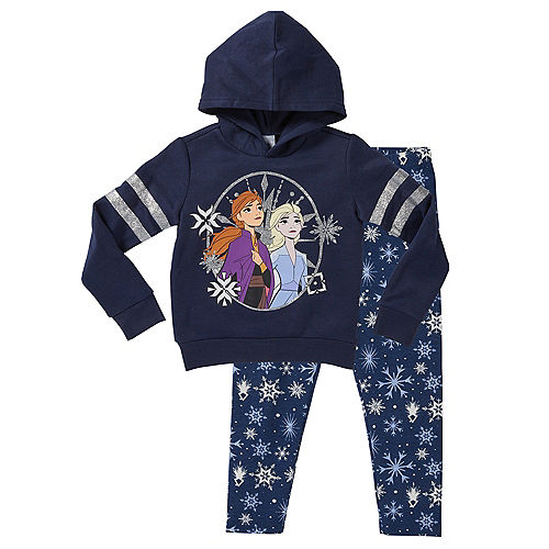 Child Frozen 2 Hoodie Outfit Set 2pc Image #1