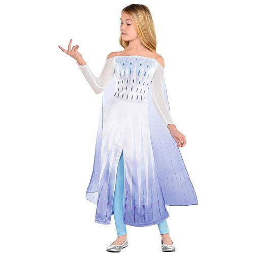 Child Epilogue Elsa Costume - Frozen 2 Image #1