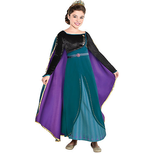 Child Epilogue Anna Costume - Frozen 2 Image #1