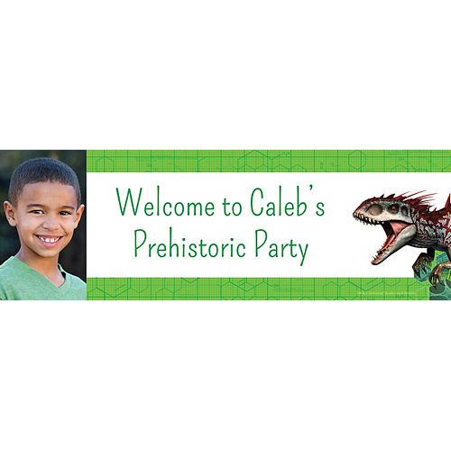 Custom Jurassic World Photo Horizontal Banner Image #1