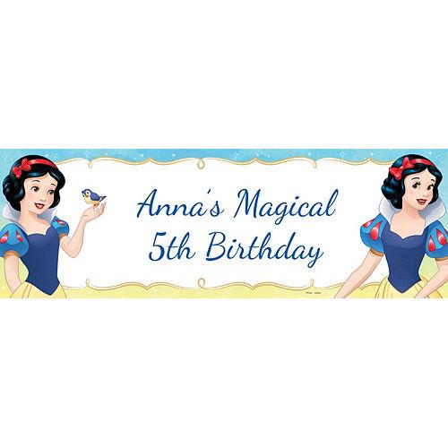 Custom Snow White Once Upon a Time Horizontal Banner Image #1