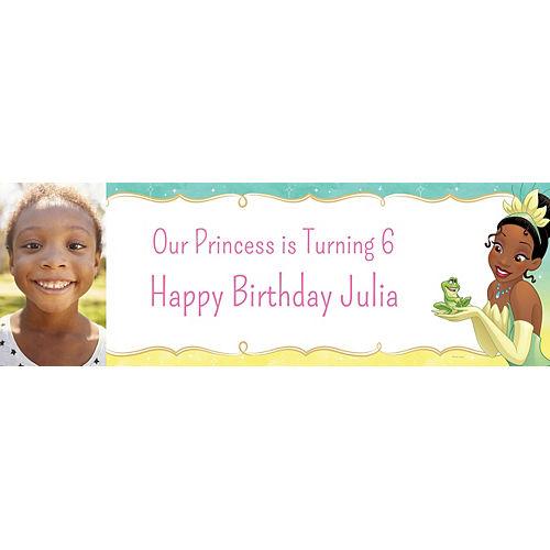 Custom The Princess and the Frog Tiana Photo Horizontal Banner Image #1