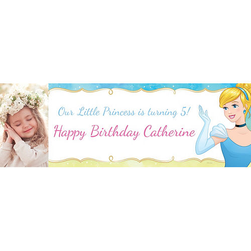 Custom Cinderella Photo Horizontal Banner Image #1