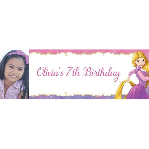 Custom Tangled Rapunzel Photo Horizontal Banner Image #1