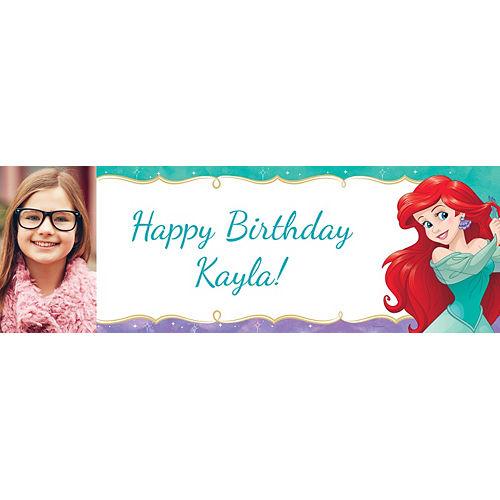 Custom The Little Mermaid Ariel Dream Big Photo Horizontal Banner Image #1