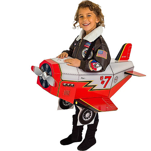 Child Airplane Ride-On Costume with Sound Effect Image #1