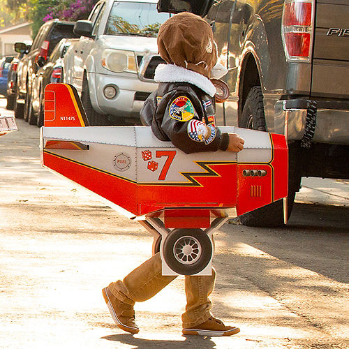 Child Airplane Ride-On Costume with Sound Effect Image #4