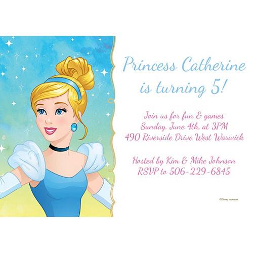 Custom Cinderella Invitations Image #1