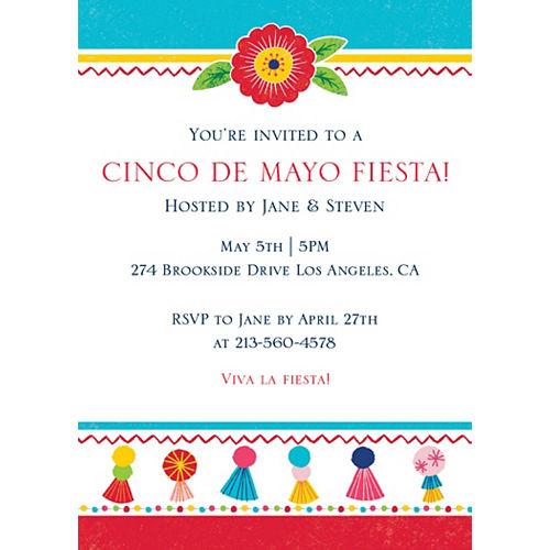 Custom Fiesta Time Invitations Image #1