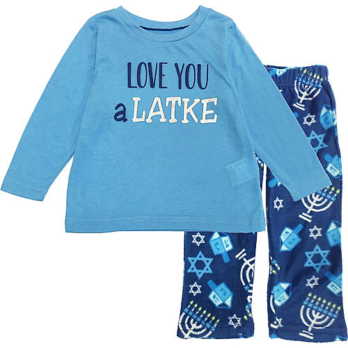 Toddler Love You a Latke Pajamas Image #1