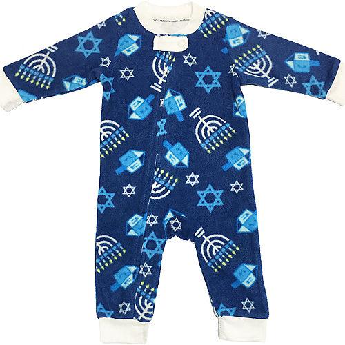 Baby Zipster Hanukkah One Piece Pajamas Image #1