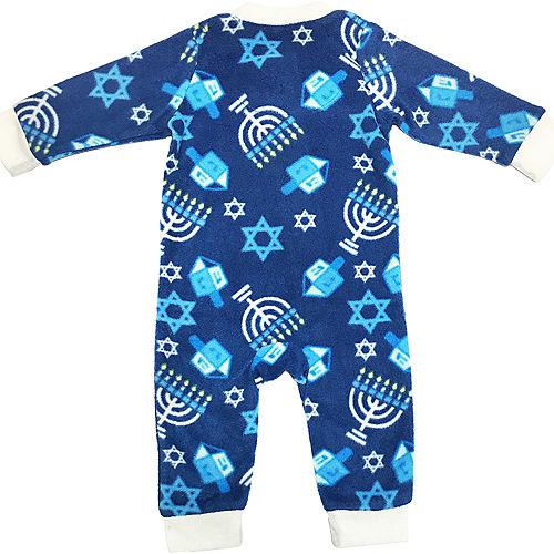 Baby Zipster Hanukkah One Piece Pajamas Image #2