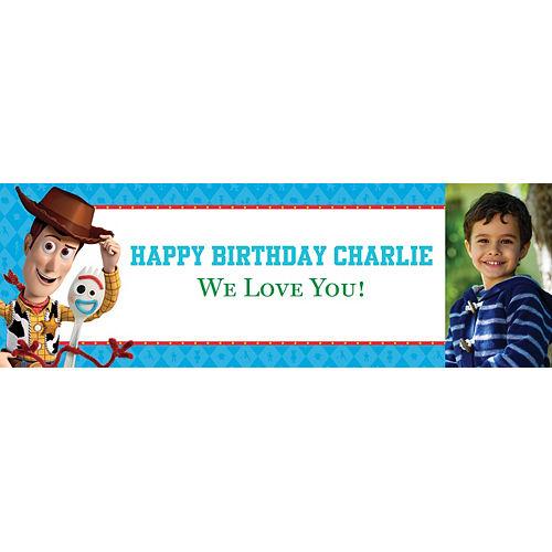 Custom Toy Story 4 Photo Horizontal Banner Image #1