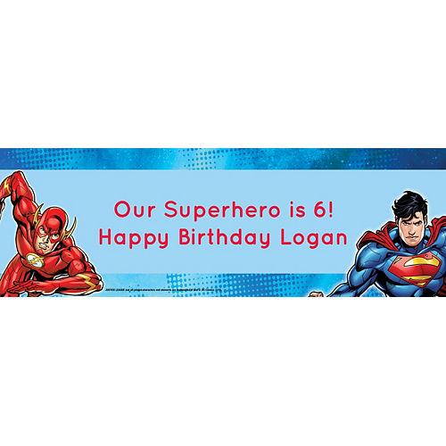 Custom Justice League Horizontal Banner Image #1