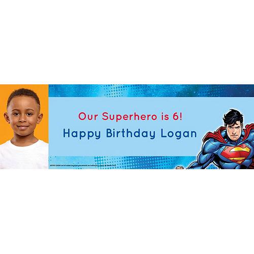 Custom Justice League Photo Horizontal Banner Image #1