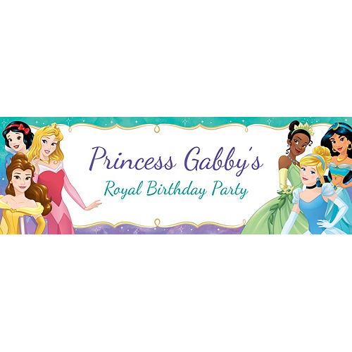 Custom Once Upon a Time Disney Princess Horizontal Banner Image #1