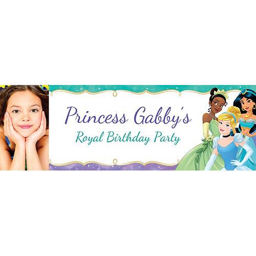 Custom Once Upon a Time Disney Princess Photo Horizontal Banner Image #1
