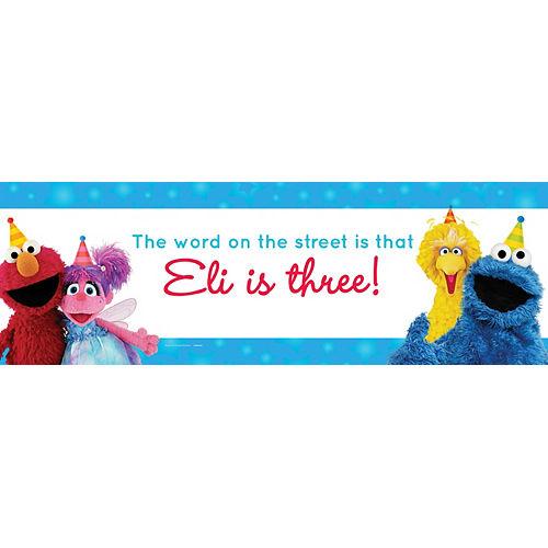 Custom Sesame Street Horizontal Banner Image #1