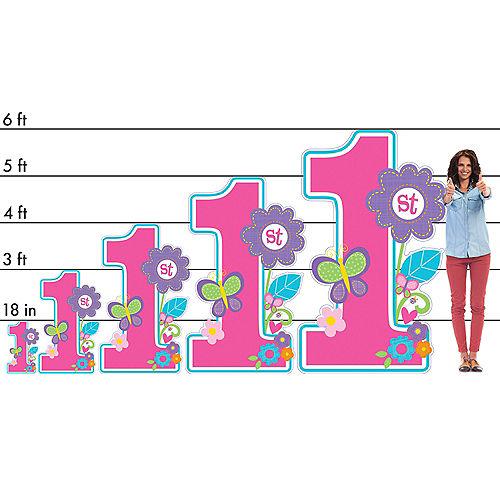 Sweet Birthday Girl Centerpiece Cardboard Cutout, 18in Image #2