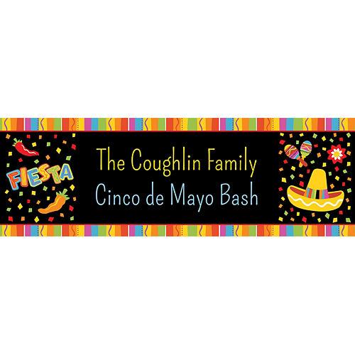 Custom Fiesta Fun Horizontal Banner Image #1