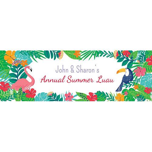 Custom Tropical Jungle Horizontal Banner Image #1