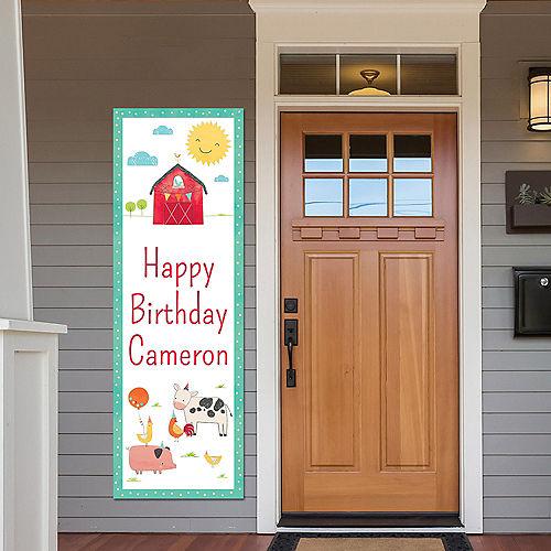 Custom Barnyard Vertical Banner Image #1