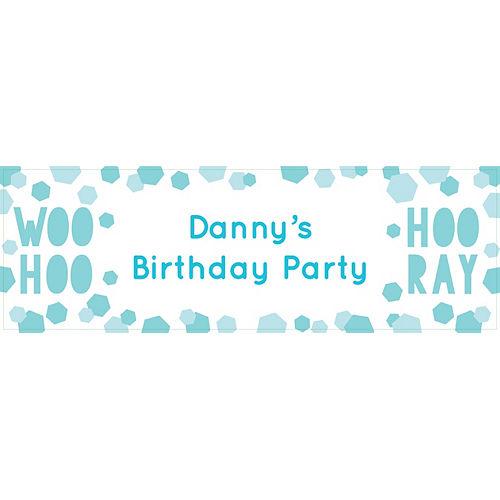 Custom Shimmering Party Horizontal Banner Image #1