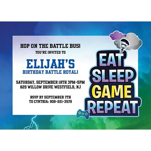 Custom Battle Royal Invitations Image #1