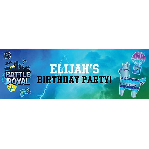 Custom Battle Royal Horizontal Banner Image #1