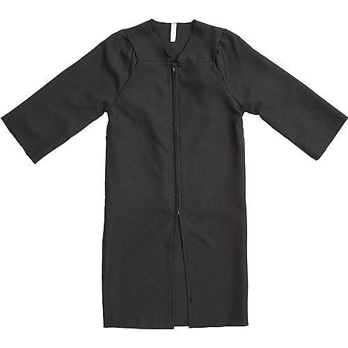 Child Black Graduation Gown Image #1