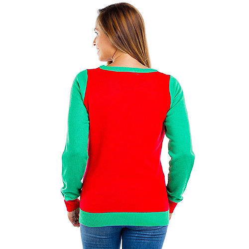Adult Meowy Christmas Ugly Sweater Image #2