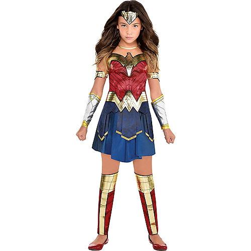 Kids' Wonder Woman Deluxe Costume - WW 1984 Image #1